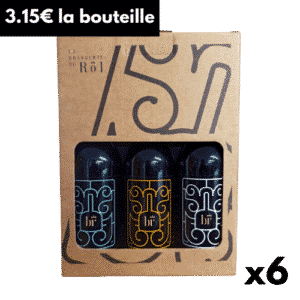 Pack 6 bouteilles BR